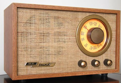 """Source: Photo Date:1922 This is a photo of a radio from the 1920s. Radios were a big part of entertainment during the time and made it easier for the people to find out what was going on in the world at the time. This is why the 1920s were """"roaring""""."""
