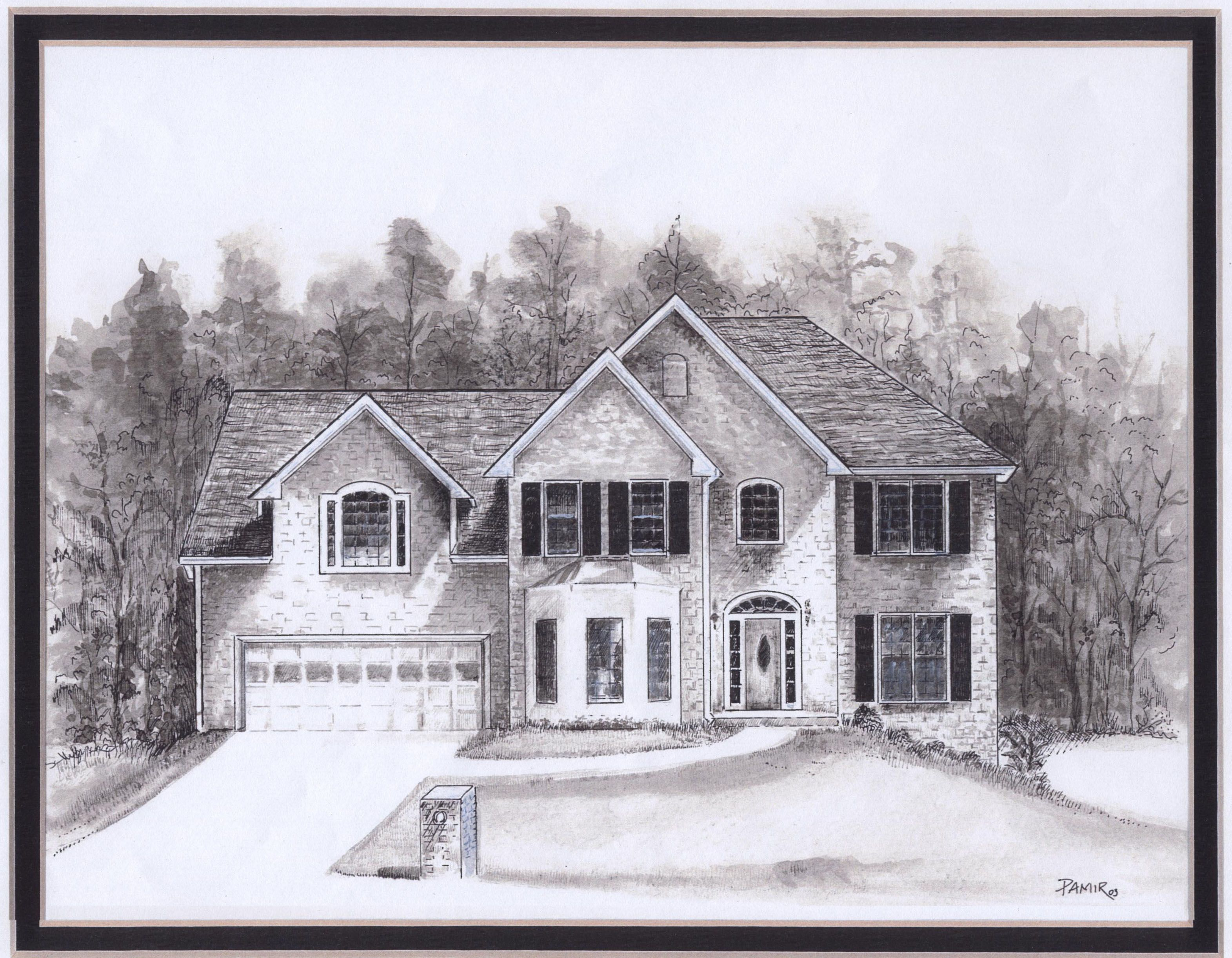 Drawings Of Houses House Drawings