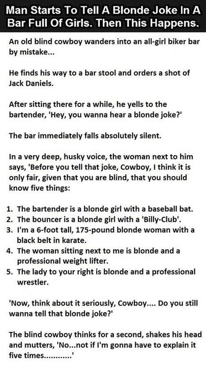 Funny Short Story Jokes : funny, short, story, jokes, Pretty, Hilarious, Short, Stories, Funny, Beaver, Blonde, Jokes,, Stories,, Jokes, Quotes