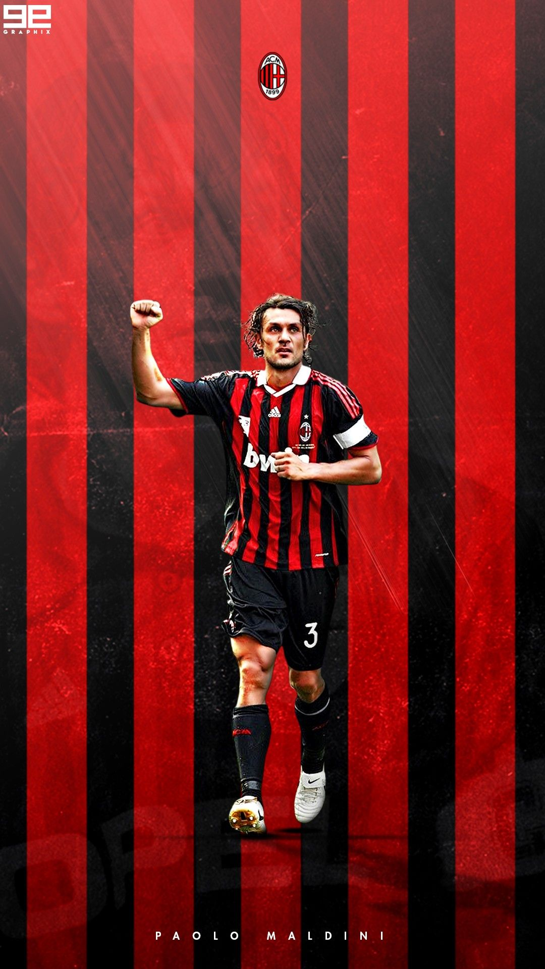 Paolo Maldini Ac Milan Sepak Bola Olahraga