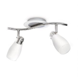 Spotlamp Philips MyLiving Funnel 2lichts 52222/11/16