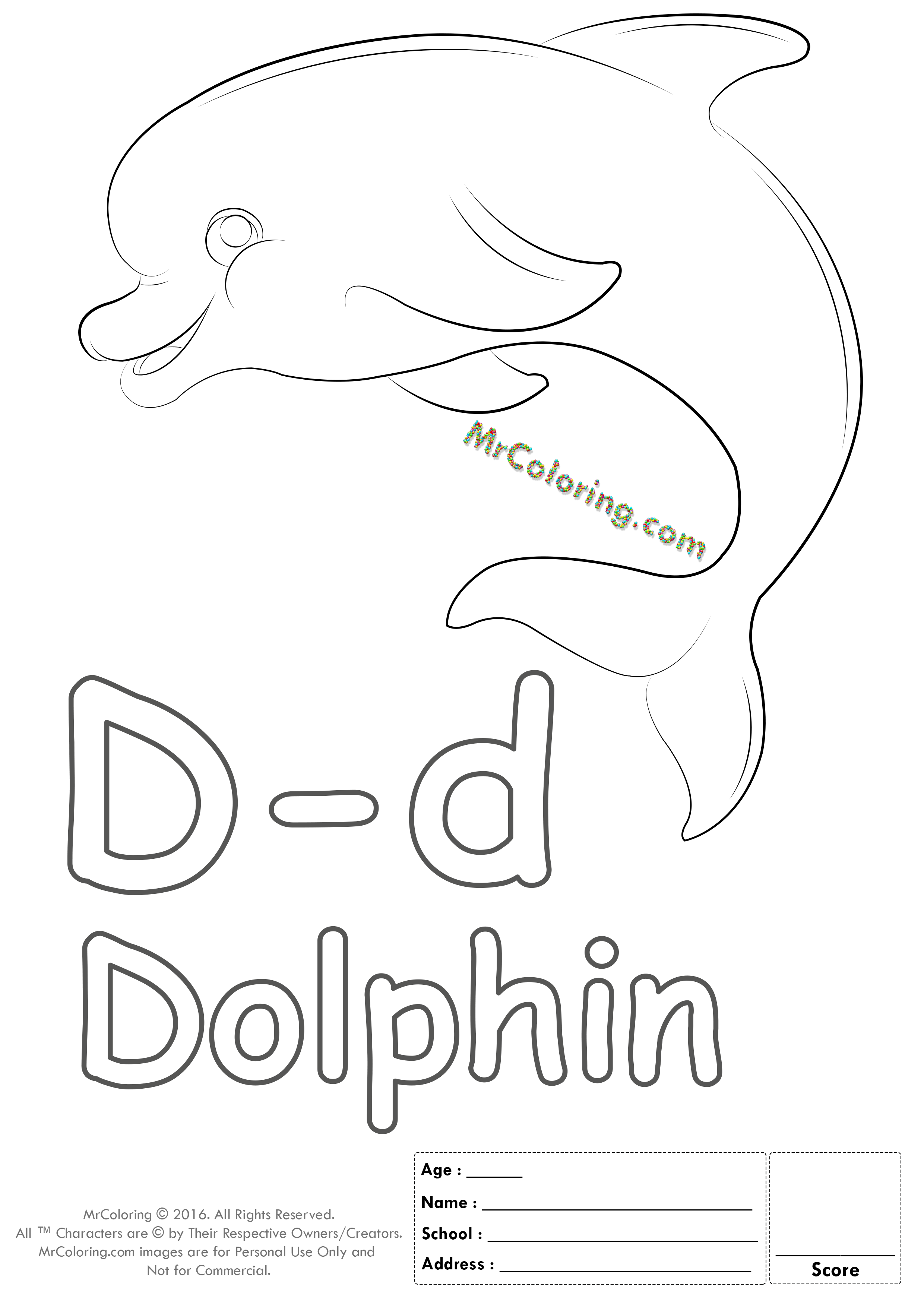 Alphabet Letter Dd Coloring Pages Coloring Worksheets
