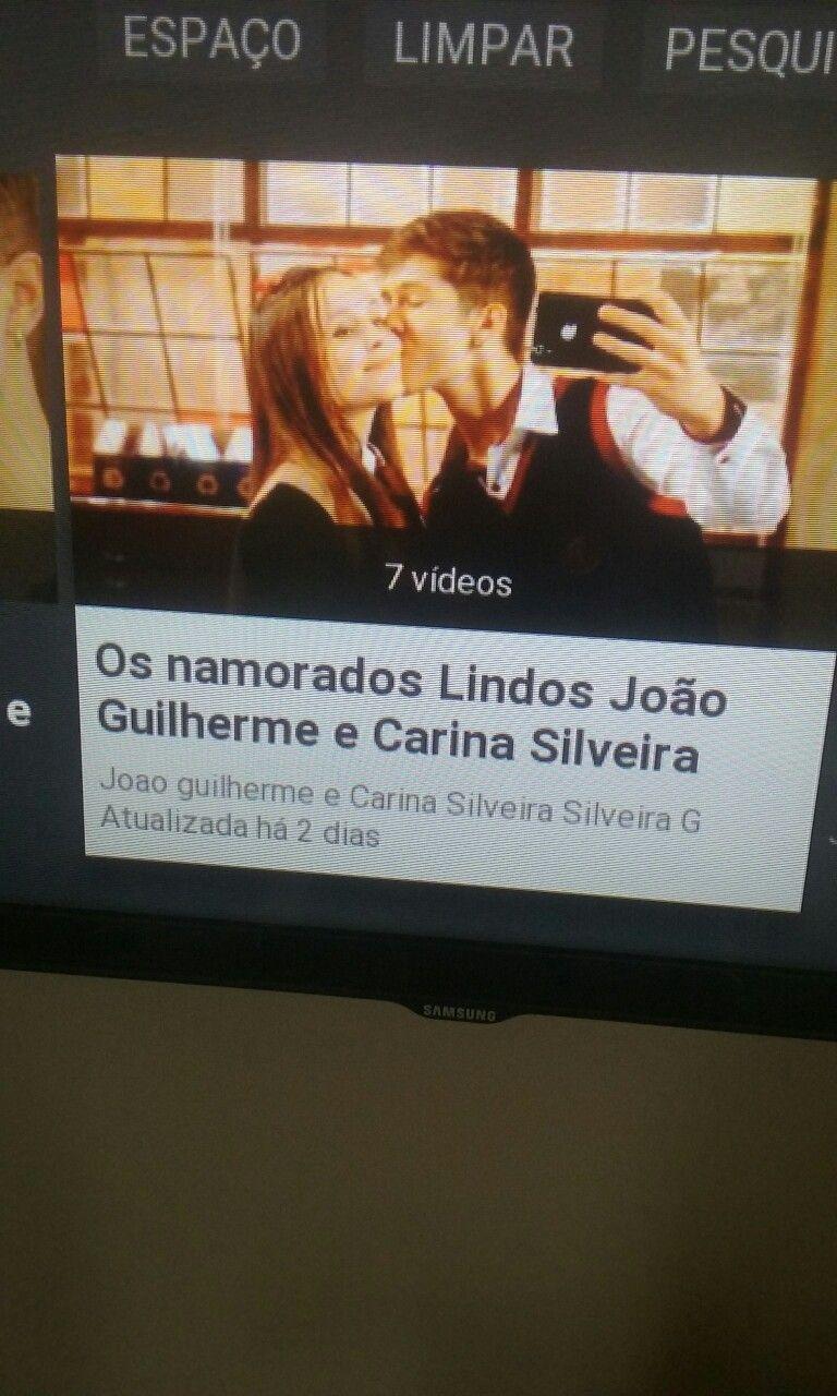 Pin Em Joao Guilherme Carina Silveira