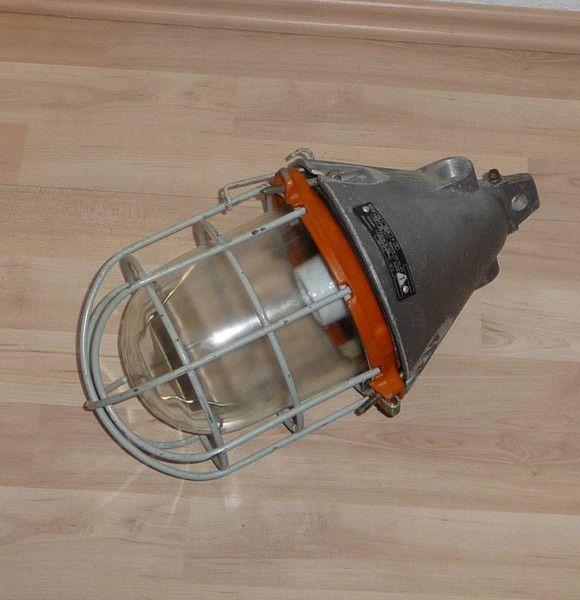 Vintage Deckenlampen Industrielampe Bunkerlampe Loft Bauhaus