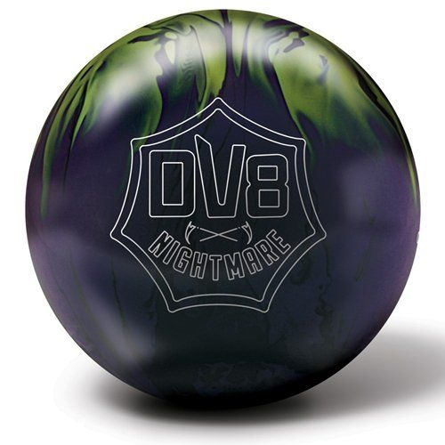Dv8 Nightmare Bowling Ball 15lbs By Dv By Dolce Vita 139 95 The Black Purple Lime Solid Dv8 Nightmare Sets A New Standar Bowling Ball Bowling Pictures Dv8