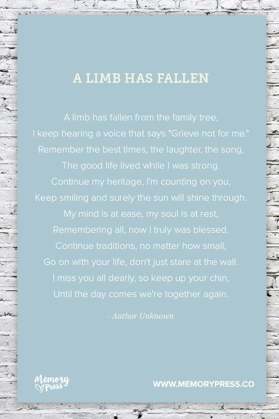 Pin On Funeral Poem