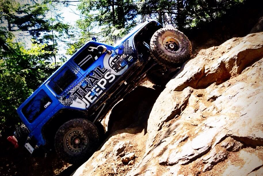 Trail Jeeps Was The First One To Attempt The Climb On 7up Hill