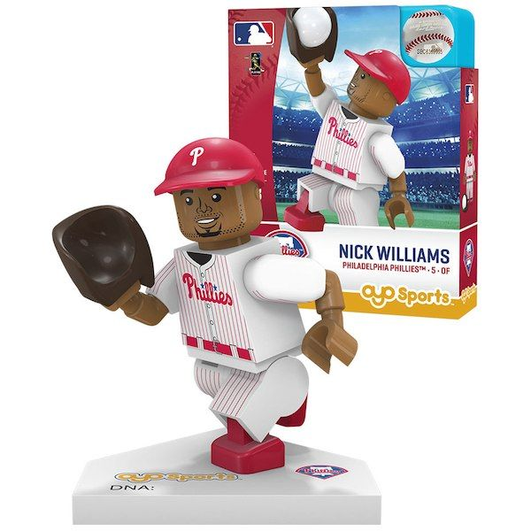 947259201 Nick Williams Philadelphia Phillies OYO Sports Player MLB Minifigure   PhiladelphiaPhillies
