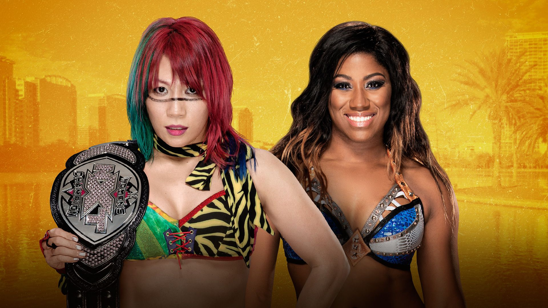 Asuka And Ember Moon Signed Their Nxt Takeover Orlando Women S Championship Match Contract Nxt Takeover Women S Wrestling Nxt Women S Championship