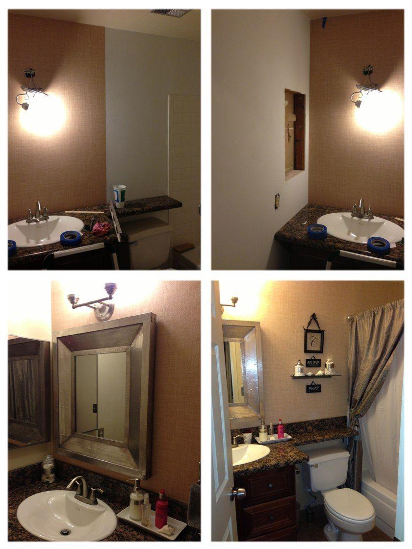 Diy Small Bathroom Makeovers Pinterest: Small Bathroom DIY Remodeling.