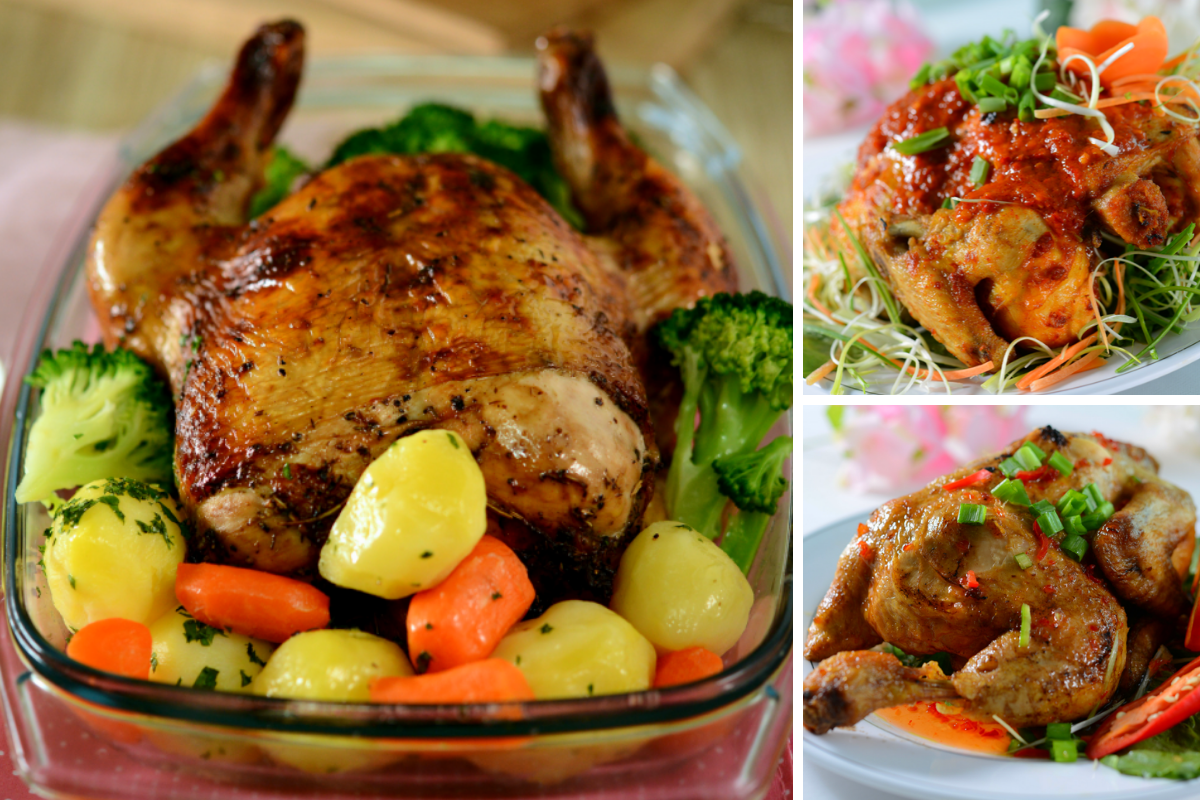 Koleksi Resipi Ayam Golek Mudah Untuk Meja Pengantin Recipes Food Turkey