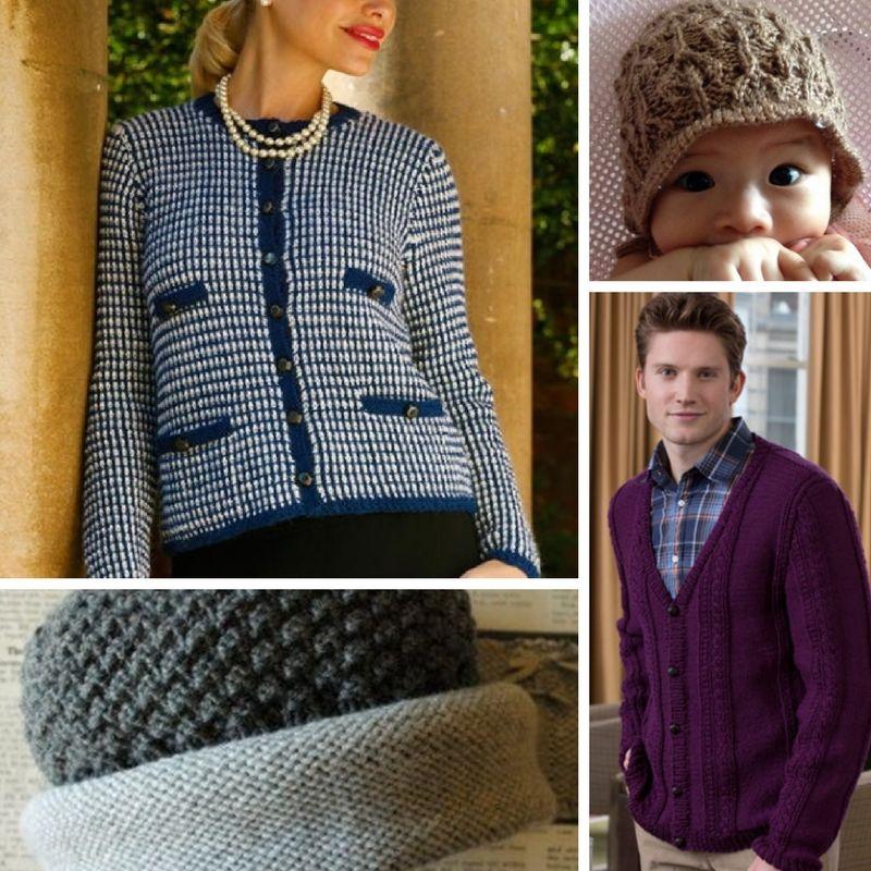 Straight Needle Knitting: 30 Easy Knitting Patterns ...