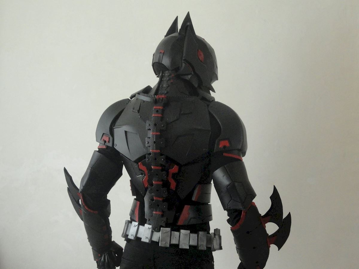 Batman Beyond Costume From Foam The Rpf Pulse Costumes Cosplay
