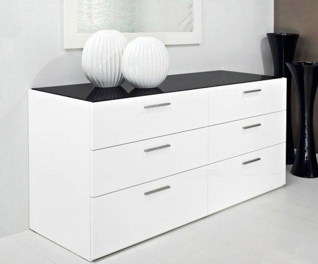 Jersey Dresser Calligaris White Lacquer Dresser Dresser As