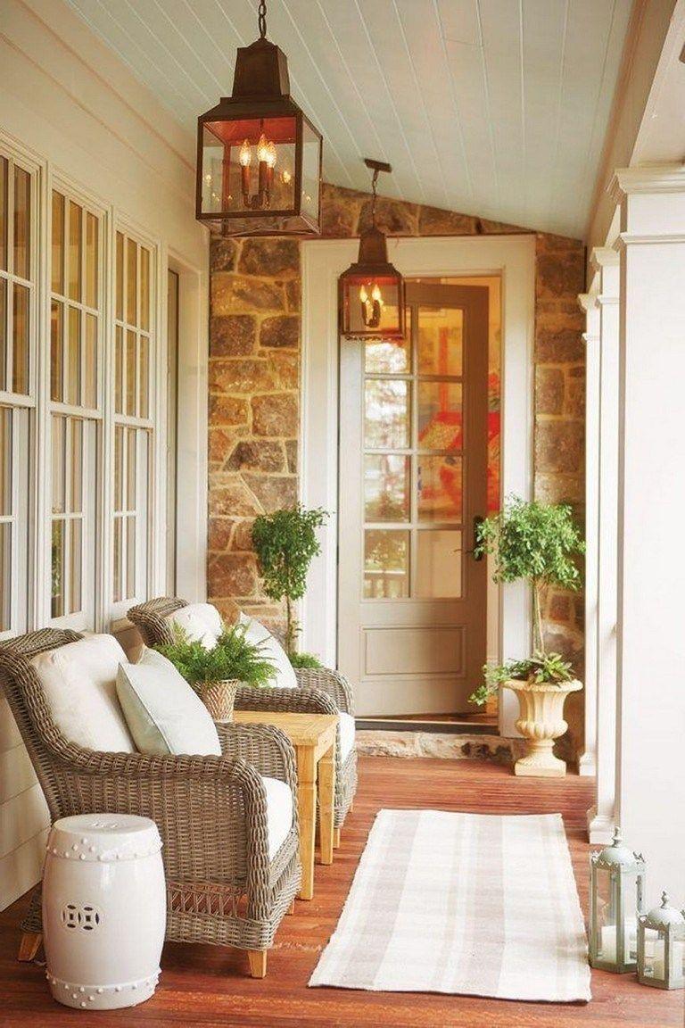 40+ schöne Veranda Dekor Ideen Passagier zu jedem Home Design – Seite 19 von 42  – Balkon