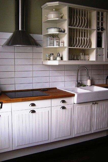 Ikea Stat Kitchen Ikea Kitchen Cabinets Diy Kitchen Remodel Trendy Kitchen Tile
