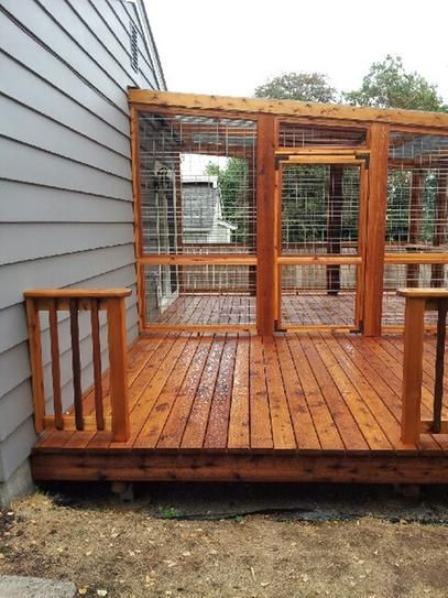 User Submitted Photo Exterior Wood Stain Mobile Home