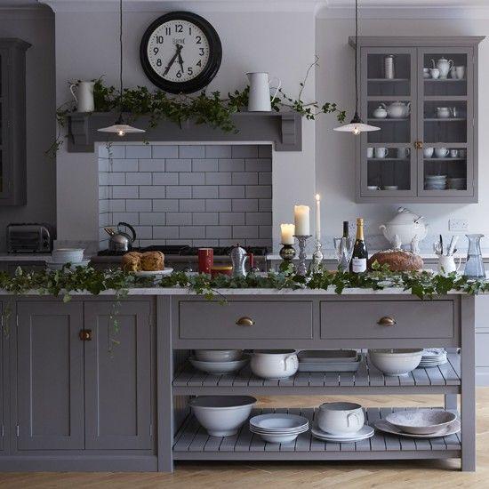 Best Lovely Gray Shaker Cabinets Diy Kitchen Decor Kitchen 400 x 300