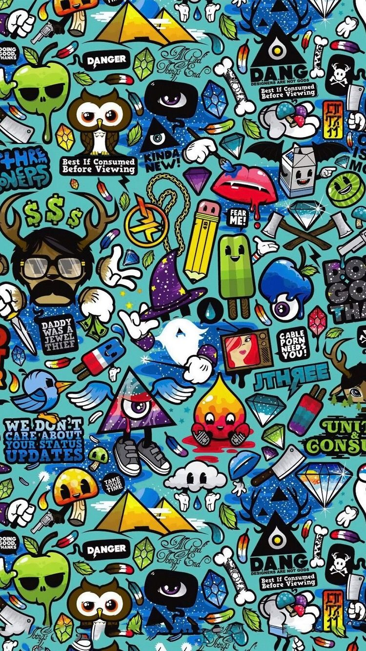 Doodle Wallpaper For Iphone