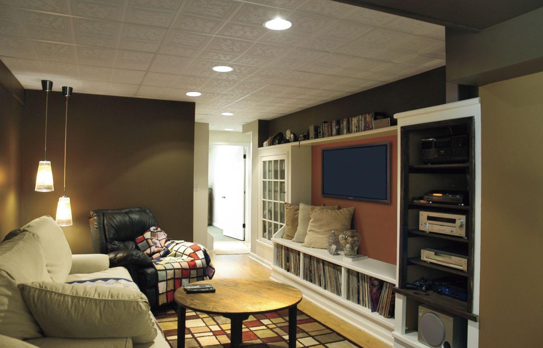 Basement tv room design - Basement Bonus Rooms