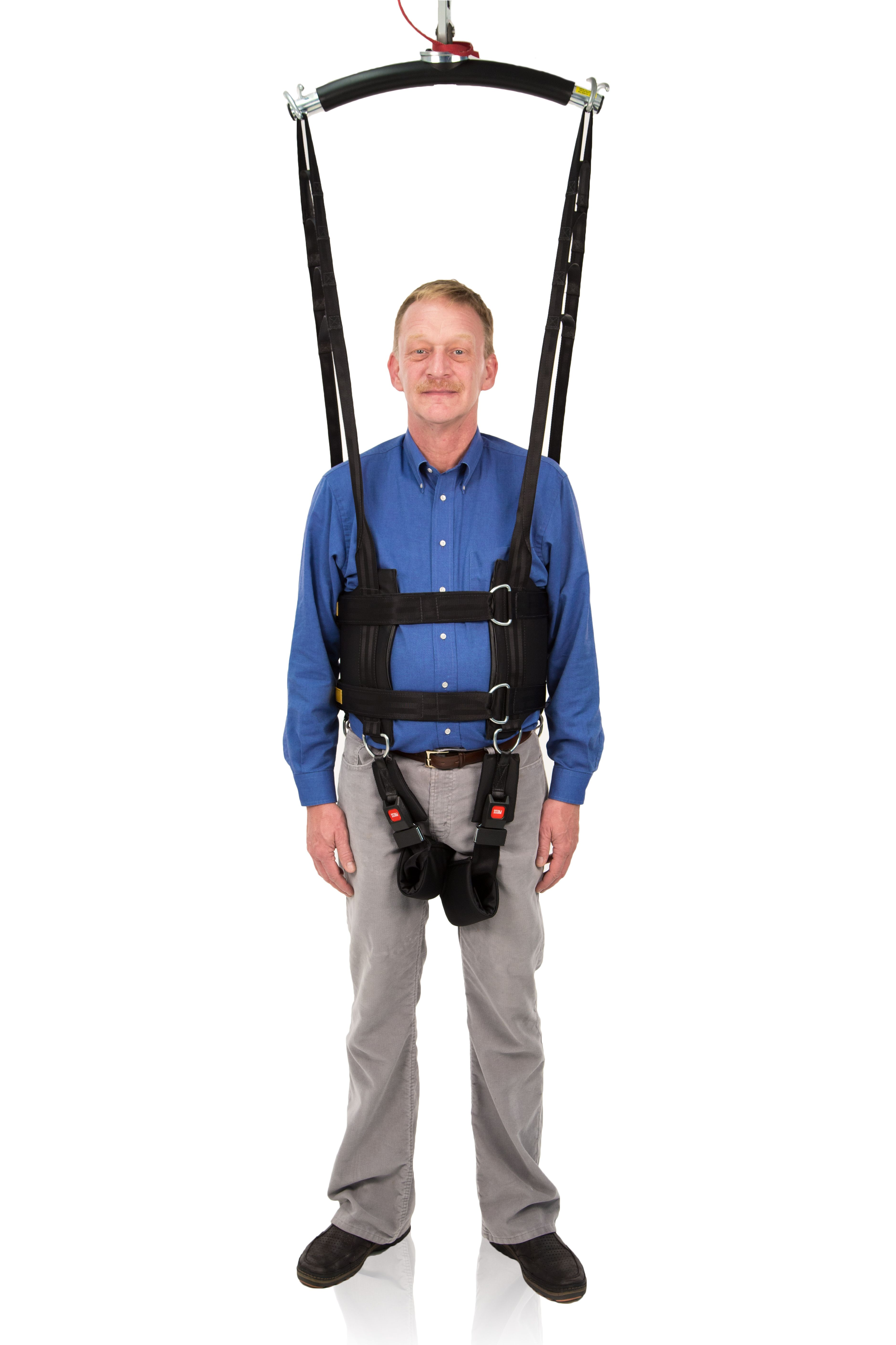 Rehab Total Support System Sling Handicare Usa Sit To Stand Wheelchair Accessories Gait Training
