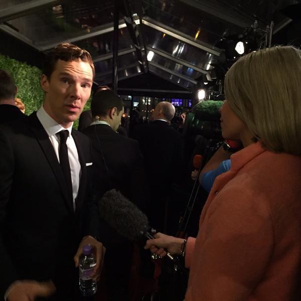 Benedict Cumberbatch attends the 60th London Evening Standard Theatre Awards at London Palladium on November 30, 2014 in London, England.