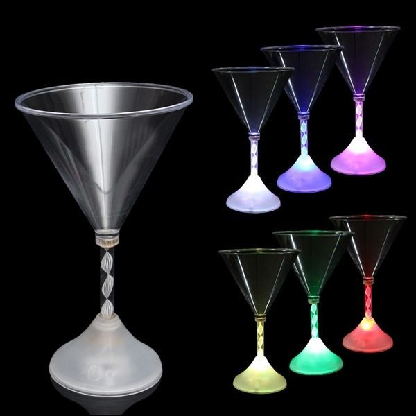 T, LED Flashing Wine Glass Colorful Light Champagne Cup For Party Bar: Bid: 13,04€ (£11.02) Buynow Price 13,04€ (£11.02) Remaining 09 days…
