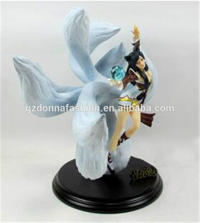 League of Legends Nine fox Ali action figure, View League of Legends, donnatoyfirm Product Details from Guangzhou Donna Fashion Accessory Co., Ltd. on Alibaba.com