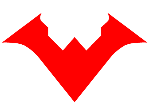 Nightwing Logo New 52 By Eddie Lozano Nightwing Game Logo Logos
