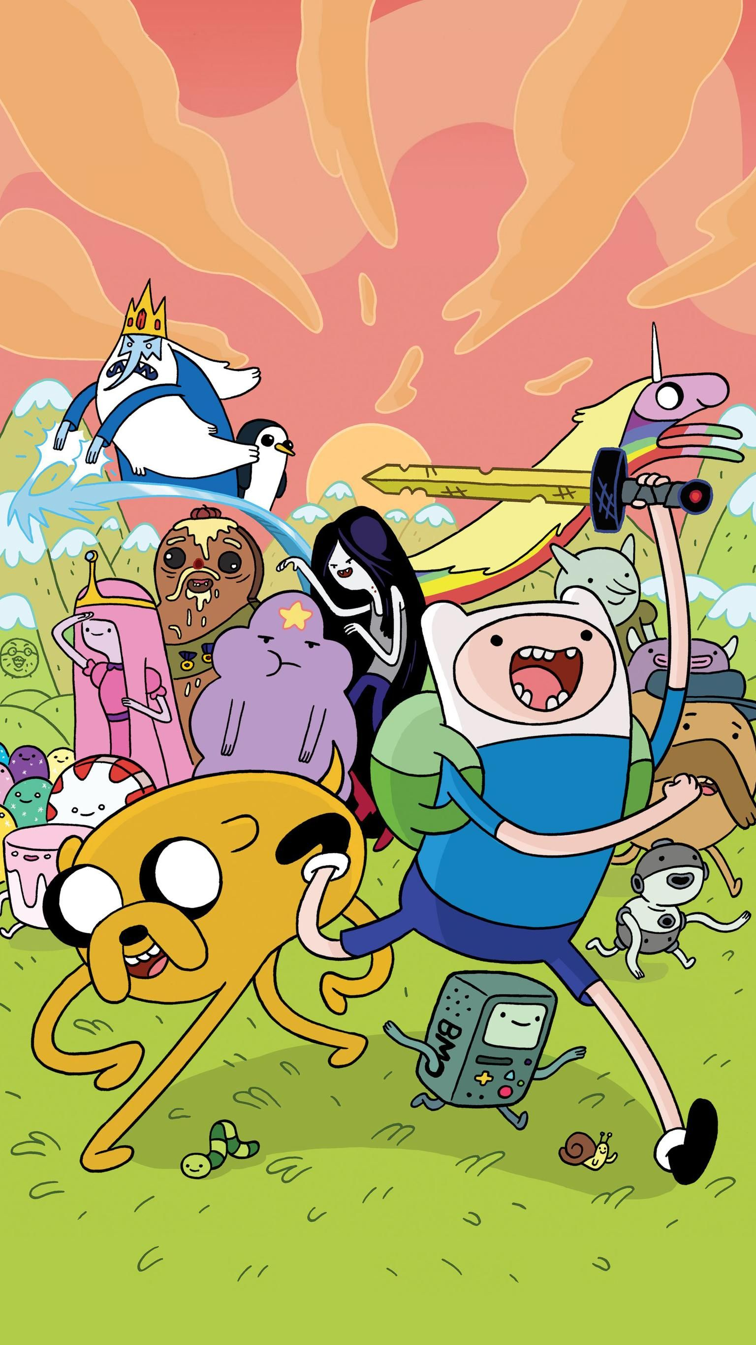 Adventure Time Phone Wallpaper