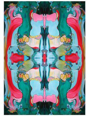 "Saatchi Art Artist Diana Roig; New Media, ""I'll be your mirror/Most People."" #art"