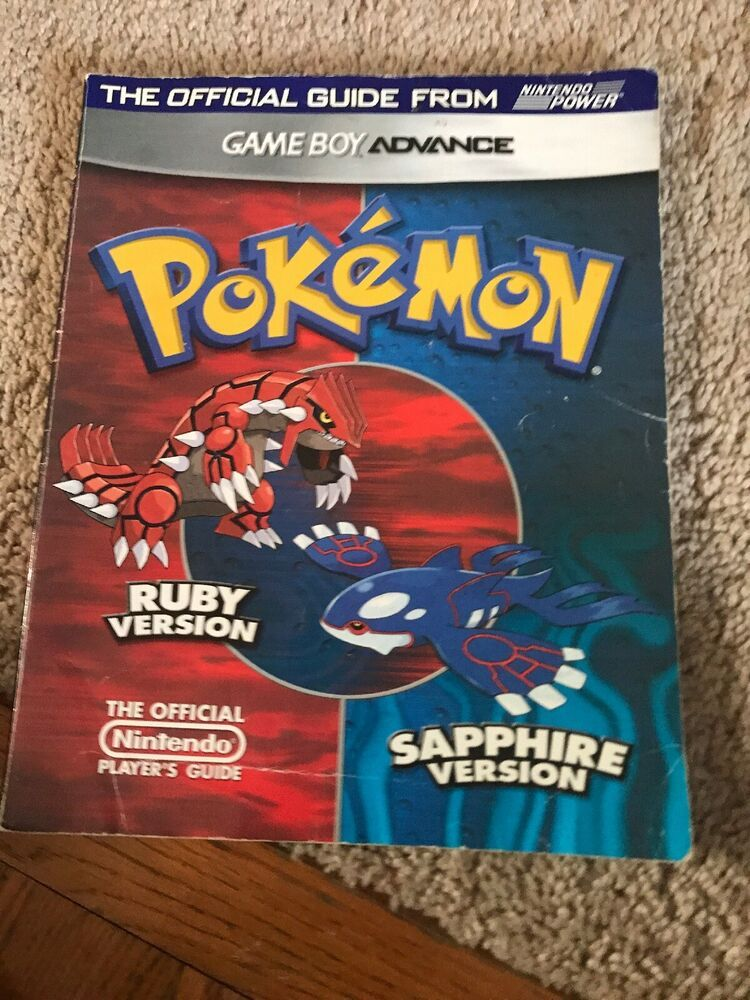 Pokemon Ruby Version Sapphire Version Game Boy Advance