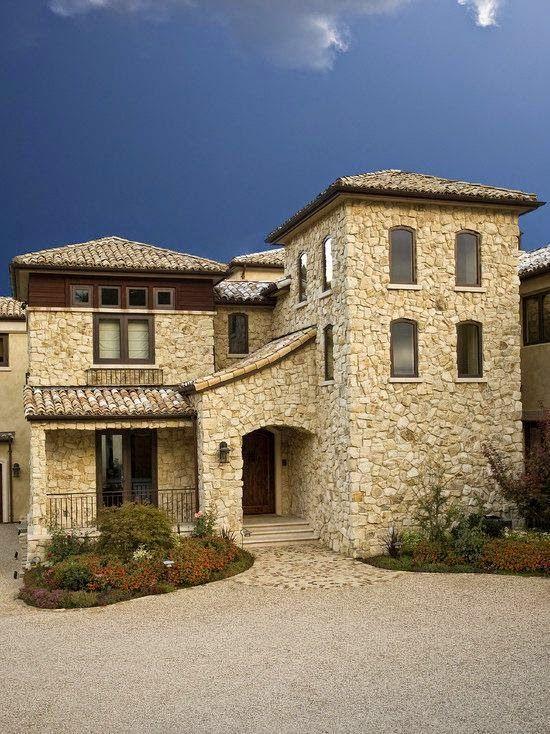Fachadas de casas Rusticas - 8 fachadas exteriores Pinterest