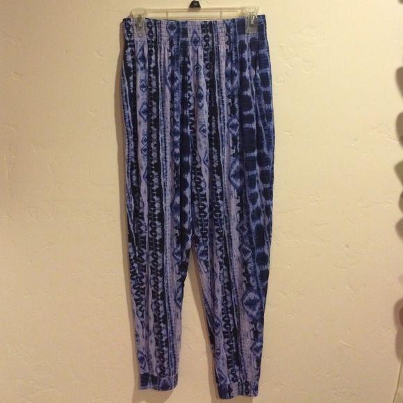 Harem pants Cute tie dye printed pants Cotton On Pants