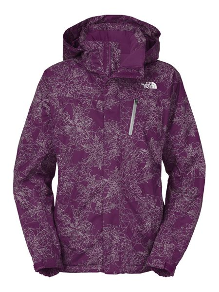 80727a418f LADIES  SNOW COUGAR PRINT JACKET