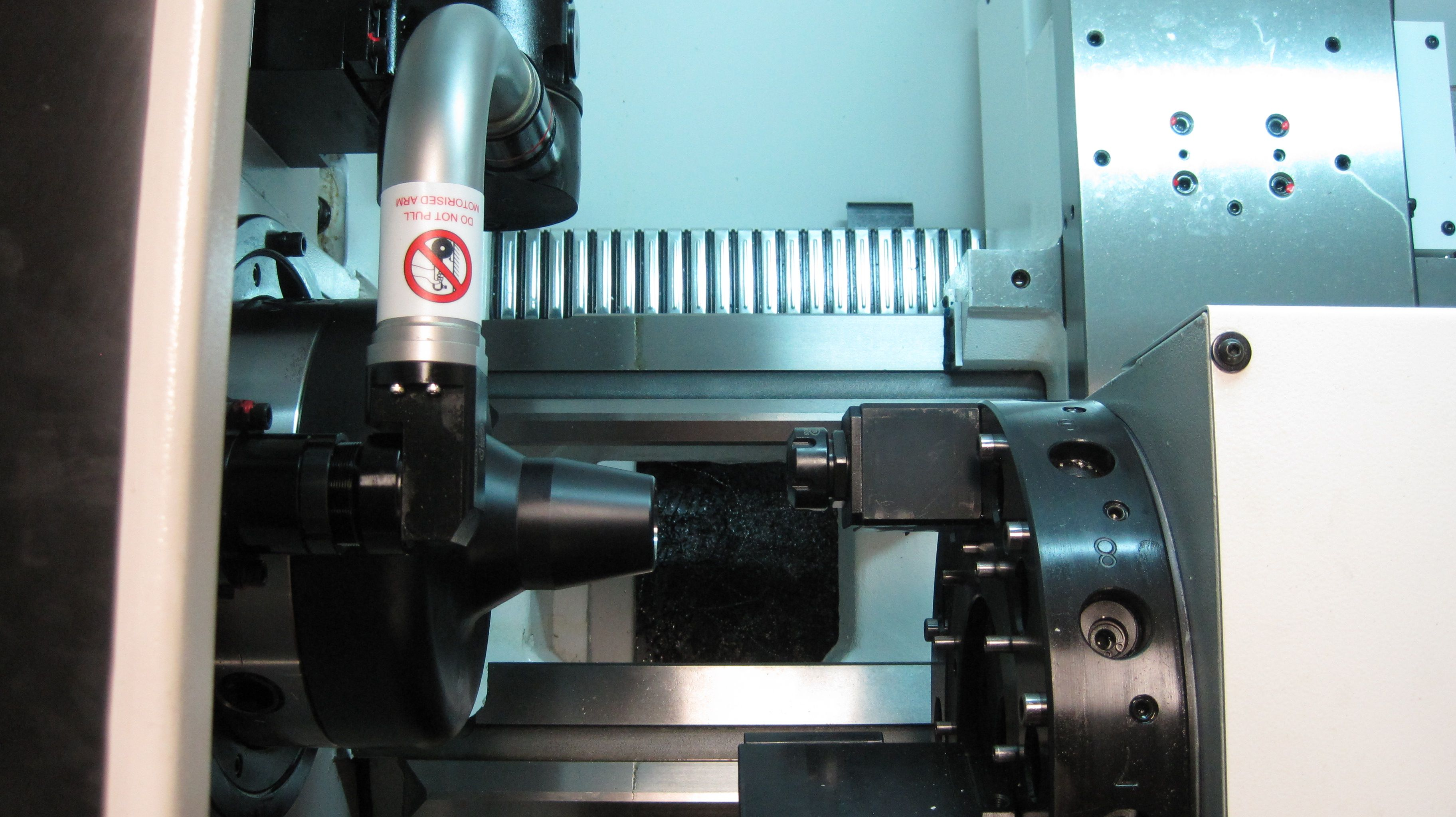 Live tooling turret and automatic Marposs tool probe on Fryer ET ...