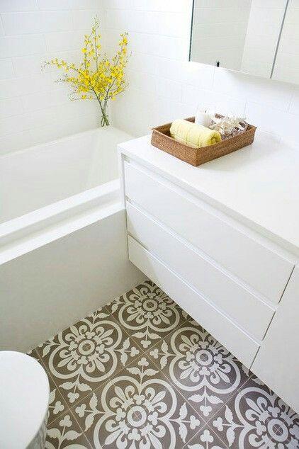Fleur De Lys Floor Tiles