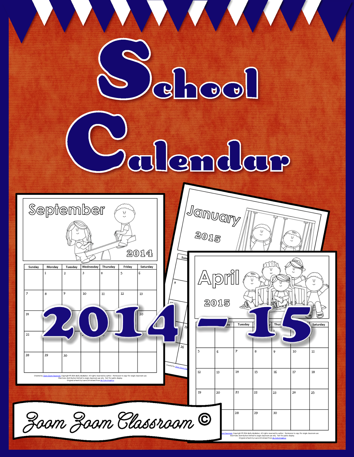 Free School Calendar