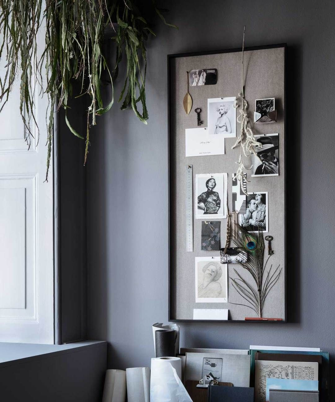Home Officedesk Design: Scenery Pinboard In 2020