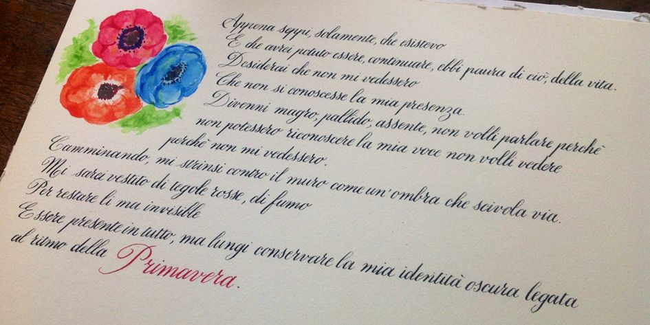 Timidezza, Neruda