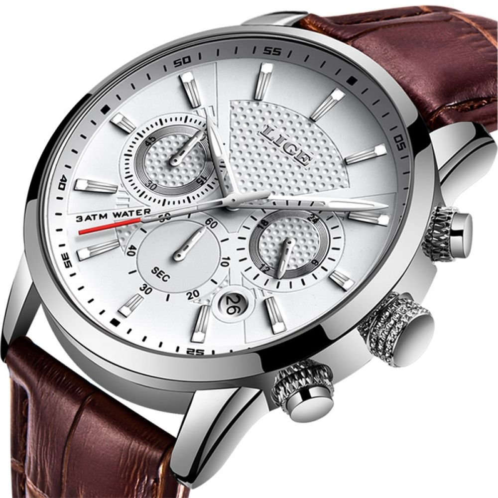 Lige 2019 New Watches Extreme Men Fashion Sport Quartz Clock Mens