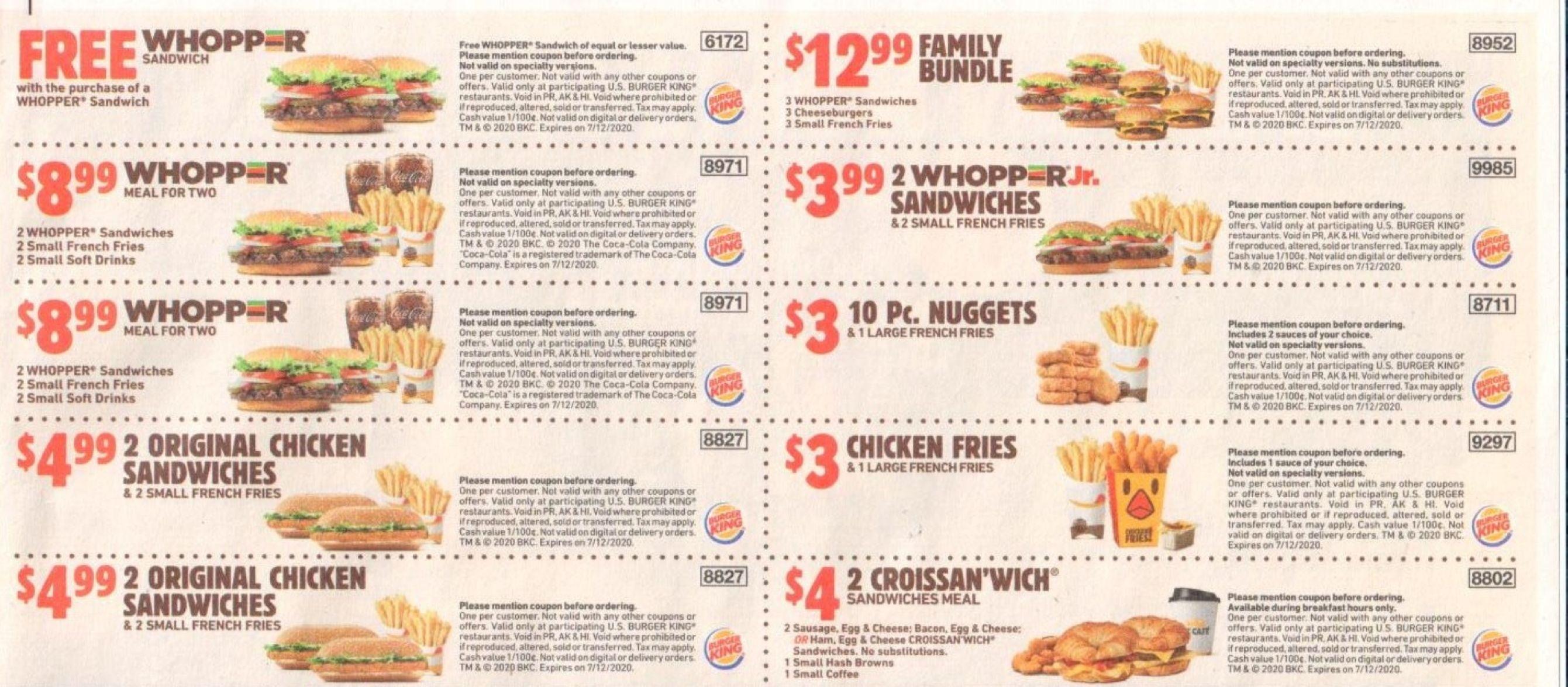 Burger King Coupons Usa May 2020 In 2020 Food Coupon Burger King Good Burger