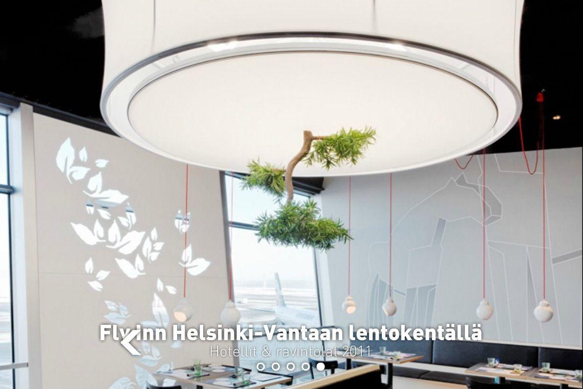 Fly Inn Restaurant & Deli - Helsinki-Vantaa Airport, Finland / dSign Vertti Kivi & Co