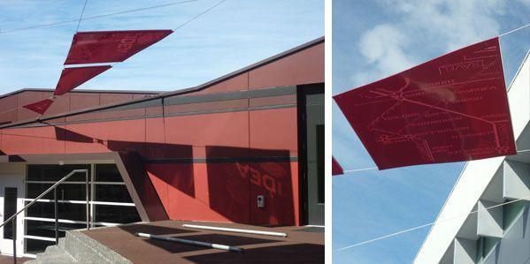 'Crossroads' designed by Futago installed at Ogilvie High School