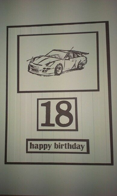 18th birthday card for my son