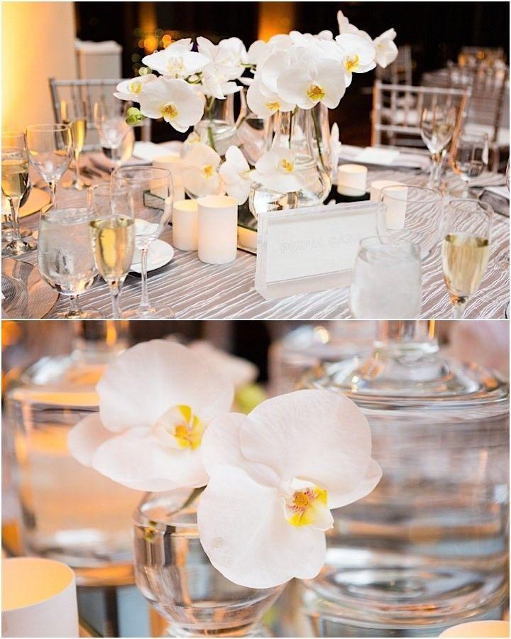 Chic White Wedding Theme: Chic All White Boston Wedding