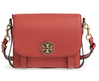 Tory Burch Alastair Pebbled Leather Shoulder/crossbody Bag -