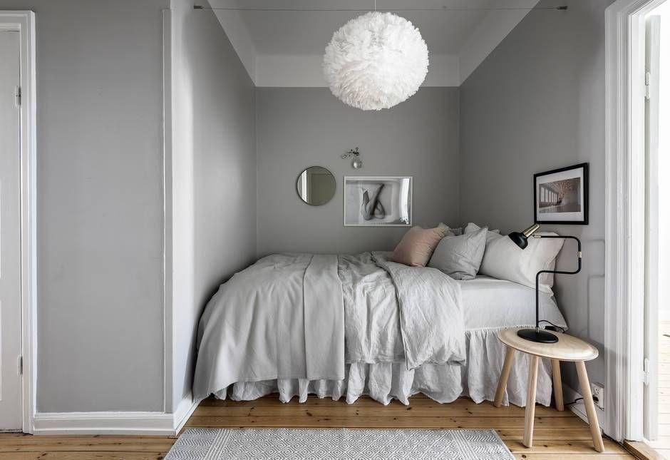 Bedroom In A Niche Coco Lapine Design Bedroom Interior Interior Design Bedroom Small Remodel Bedroom Narrow bedroom ideas pinterest