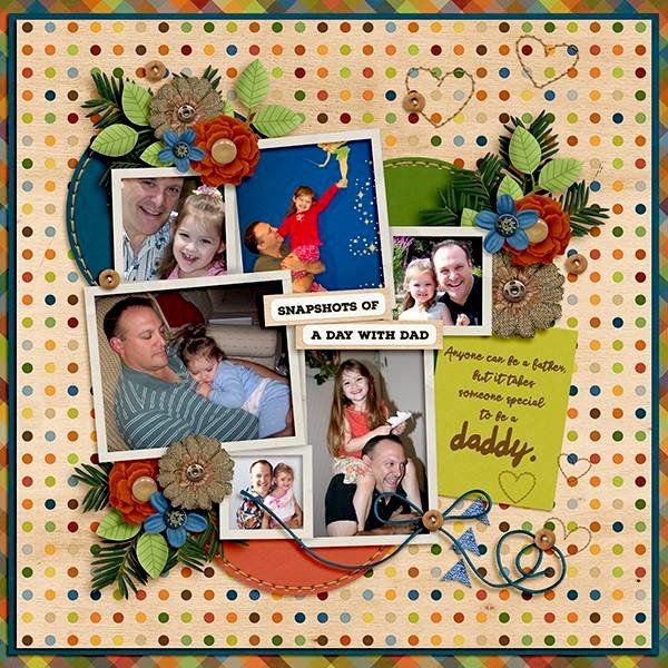 Layout: Day with Dad
