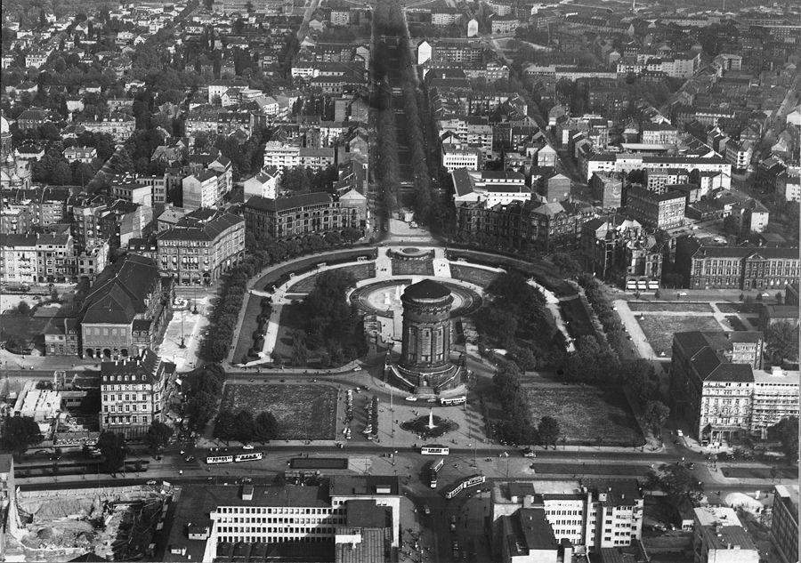 1956, Bildquelle: Stadtarchiv Mannheim Institut für Stadtgeschichte www.stadtarchiv.mannheim.de